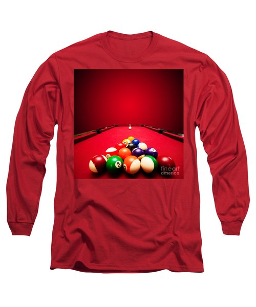 Billards Pool Game Long Sleeve T-Shirt