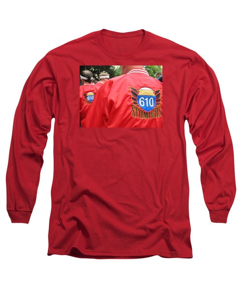 610 Stompers - New Orleans La Long Sleeve T-Shirt by Deborah Lacoste