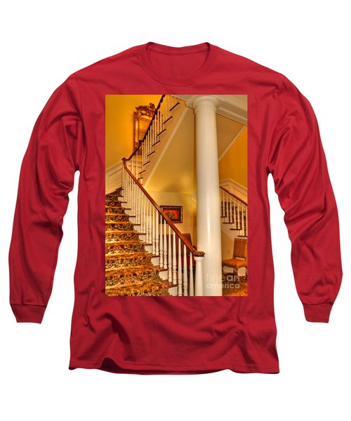 Long Sleeve T-Shirt featuring the photograph A Bit Of Southern Style by Kathy Baccari