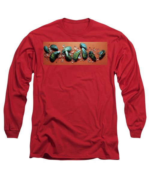 A Cluster Of Mussels Long Sleeve T-Shirt