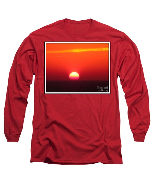 A Cooling Dive Long Sleeve T-Shirt by Mariarosa Rockefeller