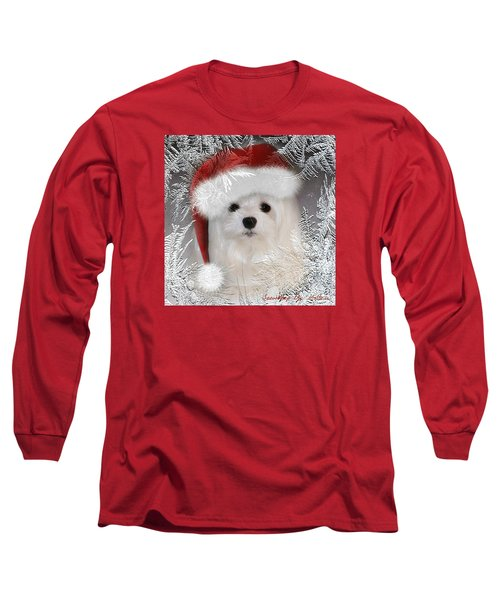 A Frosty Morning Long Sleeve T-Shirt by Morag Bates