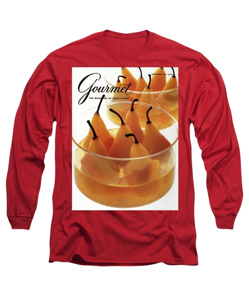 A Gourmet Cover Of Baked Pears Long Sleeve T-Shirt