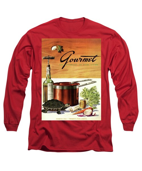 A Gourmet Cover Of Turtle Soup Ingredients Long Sleeve T-Shirt