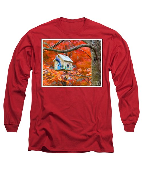 A Home In The Country Long Sleeve T-Shirt by Mariarosa Rockefeller