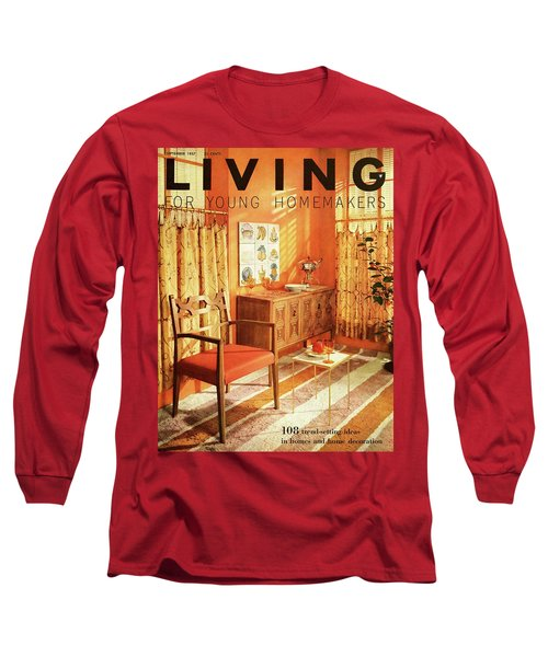 A Living Room With Furniture By Mt Airy Chair Long Sleeve T-Shirt