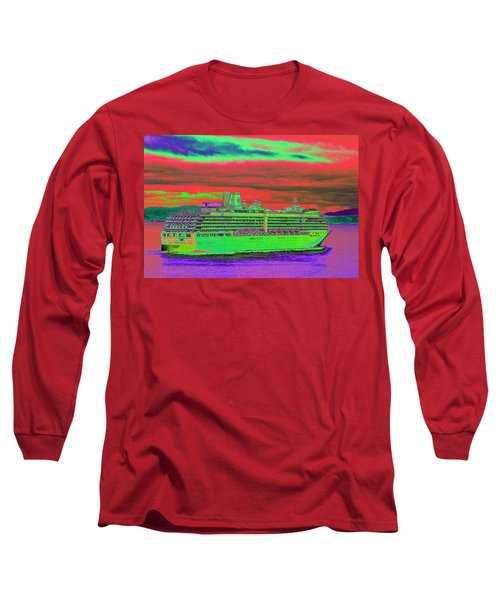 A More Colorful Hal Long Sleeve T-Shirt