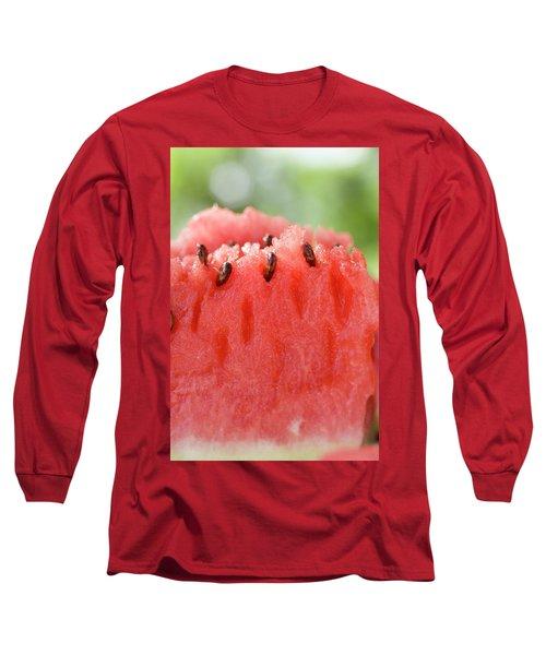 A Piece Of Watermelon Long Sleeve T-Shirt