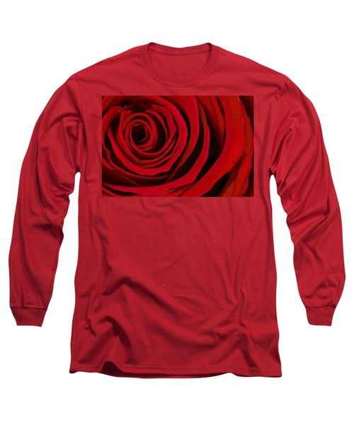 A Rose For Valentine's Day Long Sleeve T-Shirt
