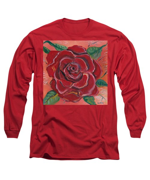 A Rose Is A Rose Long Sleeve T-Shirt by John Keaton