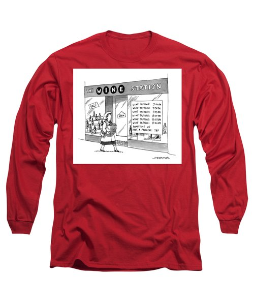 The Wine Station Long Sleeve T-Shirt