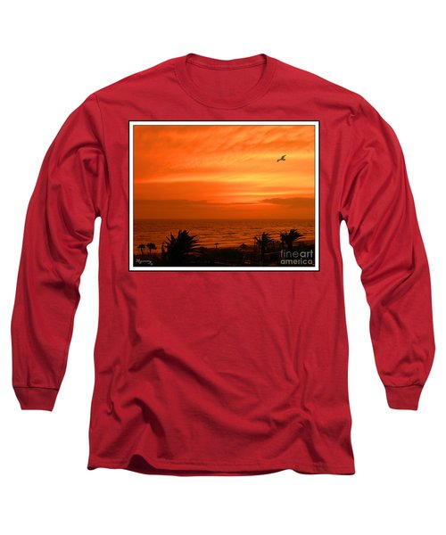 Ablaze Long Sleeve T-Shirt by Mariarosa Rockefeller