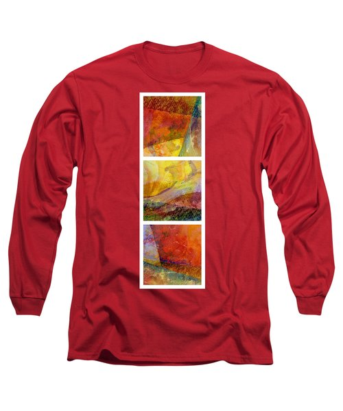 Abstract Collage No. 2 Long Sleeve T-Shirt