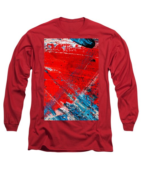 Abstract Original Artwork One Hundred Phoenixes Untitled Number Five Long Sleeve T-Shirt