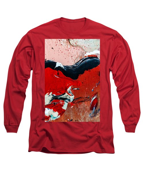 Abstract Original Artwork One Hundred Phoenixes Untitled Number Four Long Sleeve T-Shirt