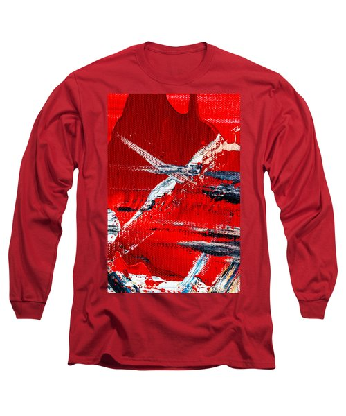 Abstract Original Artwork One Hundred Phoenixes Untitled Number Seven Long Sleeve T-Shirt