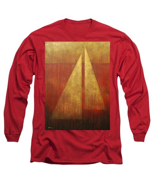 Abstract Sail Long Sleeve T-Shirt
