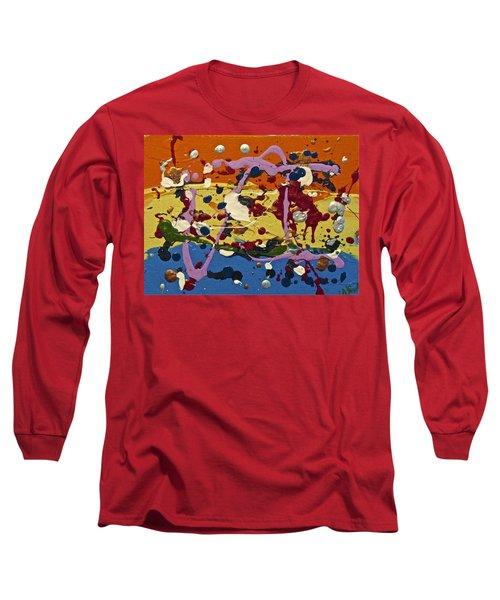 Abstracts 14 - The Circus Long Sleeve T-Shirt