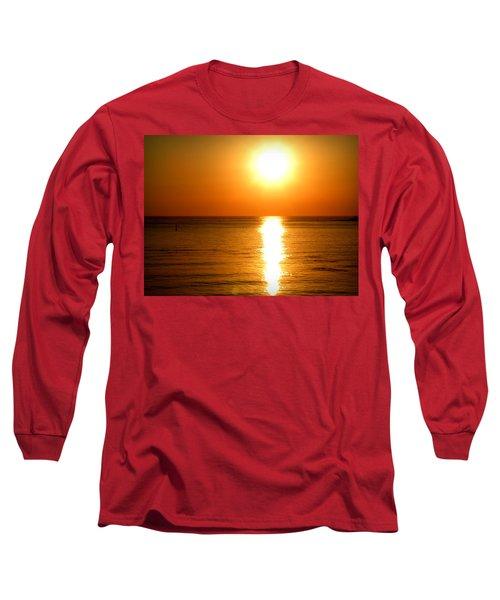 Aegean Sunset Long Sleeve T-Shirt