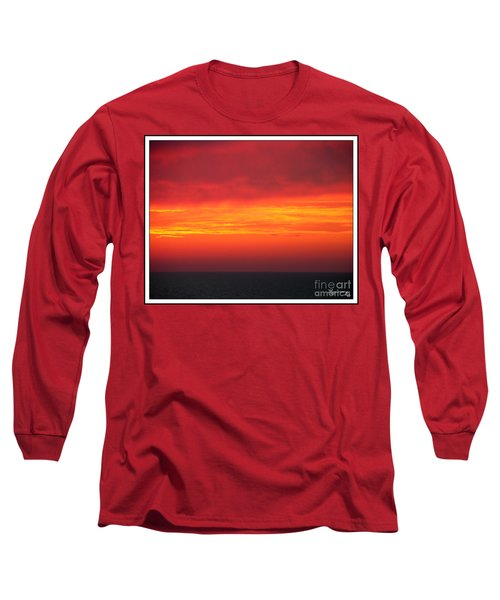 Afterglow Long Sleeve T-Shirt by Mariarosa Rockefeller