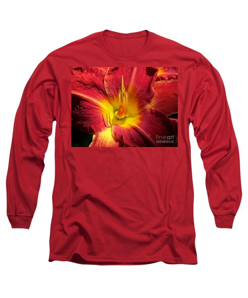 Long Sleeve T-Shirt featuring the photograph Akemi by France Laliberte