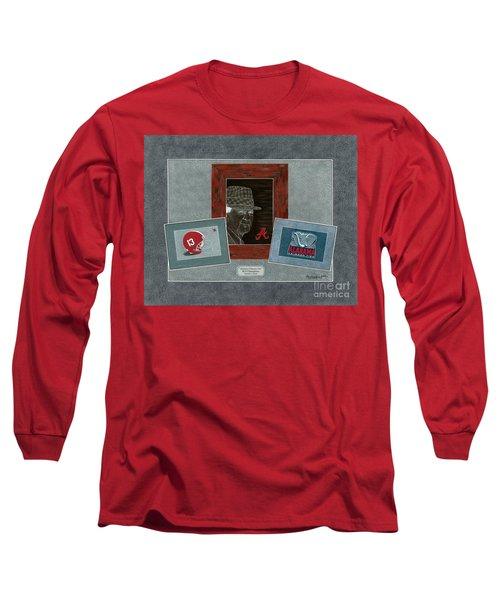 Alabama Trio  Long Sleeve T-Shirt by Herb Strobino