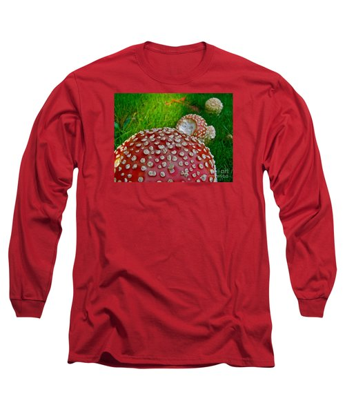 Alice's Shrooms Long Sleeve T-Shirt