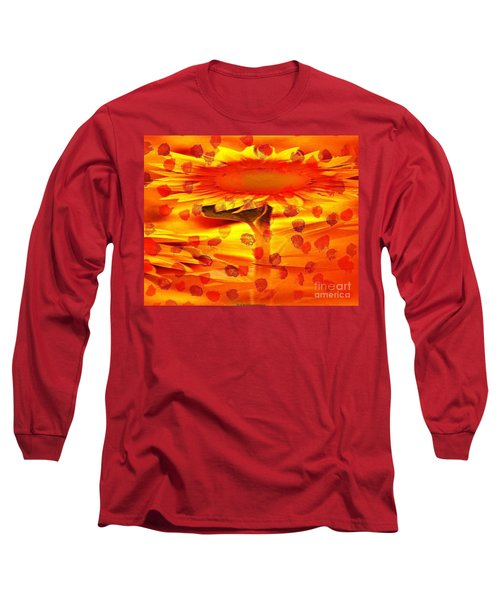 Always Turn Your Head Towards The Sun Long Sleeve T-Shirt by PainterArtist FIN