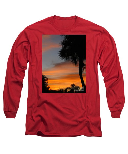 Amazing Sunrise In Florida Long Sleeve T-Shirt by Oksana Semenchenko