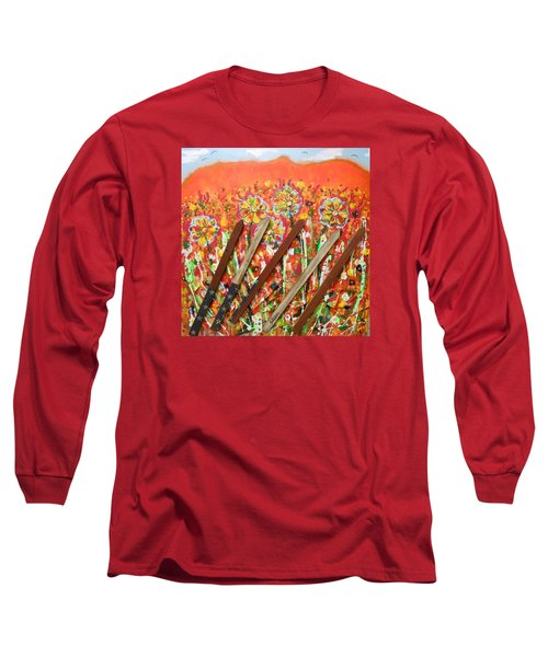 American Mornin' Flower Garden Long Sleeve T-Shirt