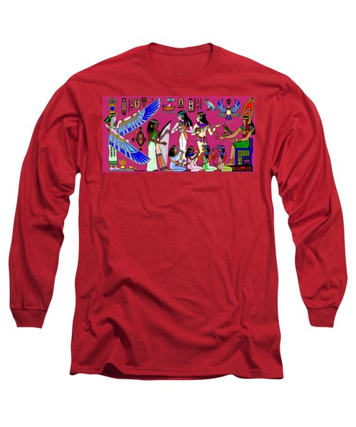 Ancient Egypt Splendor Long Sleeve T-Shirt
