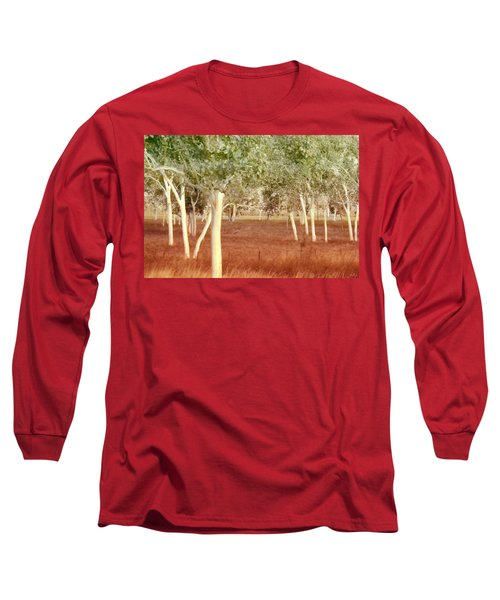 Long Sleeve T-Shirt featuring the photograph And The Trees Danced by Holly Kempe