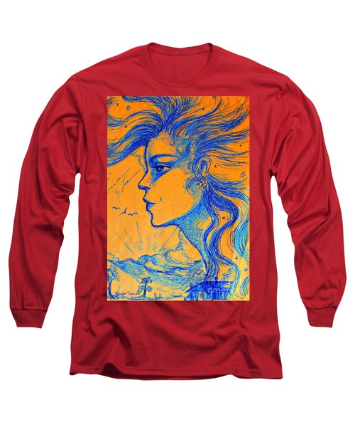 Anima Sunset Long Sleeve T-Shirt by Leanne Seymour