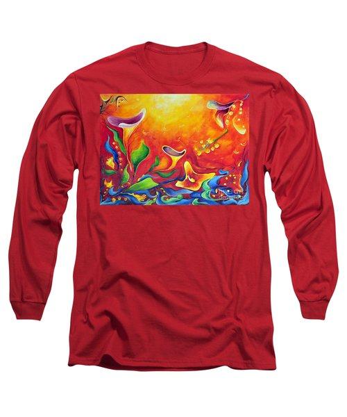 Another Dream Long Sleeve T-Shirt by Teresa Wegrzyn