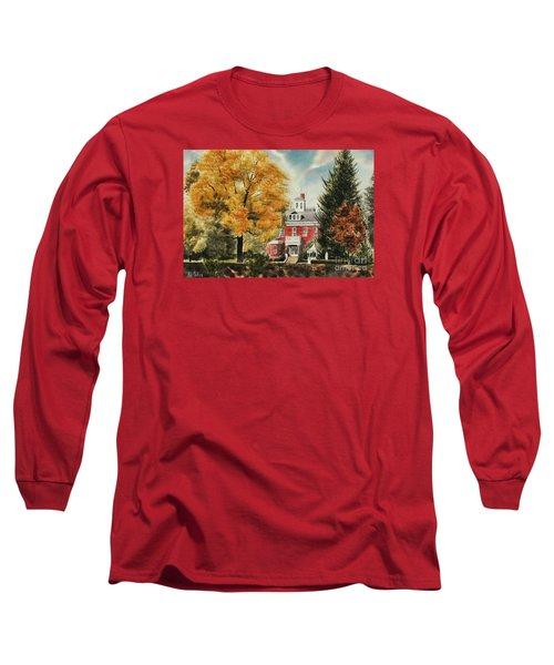 Antebellum Autumn Ironton Missouri Long Sleeve T-Shirt by Kip DeVore