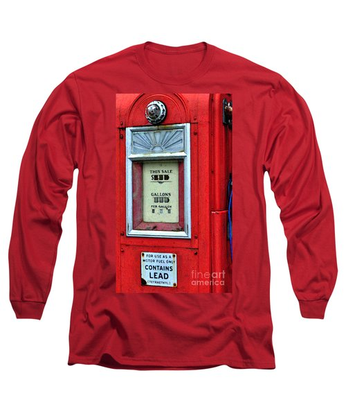 Antique Gas Pump Long Sleeve T-Shirt