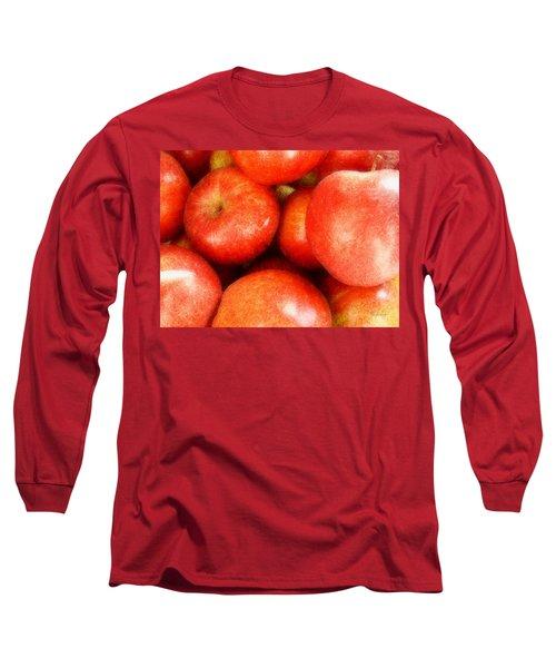 Apples Long Sleeve T-Shirt by Cynthia Lassiter