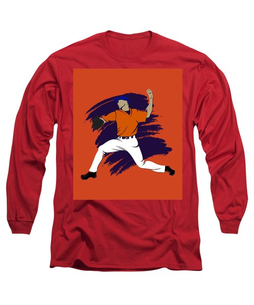 Astros Shadow Player3 Long Sleeve T-Shirt