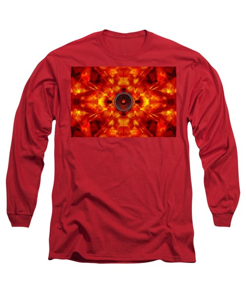 Audio Kaleidoscope Long Sleeve T-Shirt