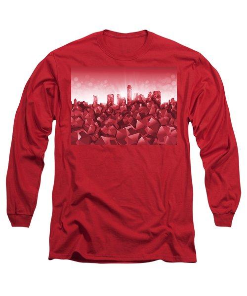 Austin Skyline Geometry Long Sleeve T-Shirt