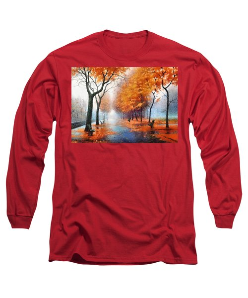 Autumn Boulevard Long Sleeve T-Shirt
