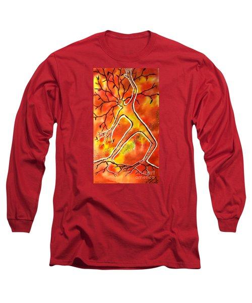 Autumn Dancing Long Sleeve T-Shirt