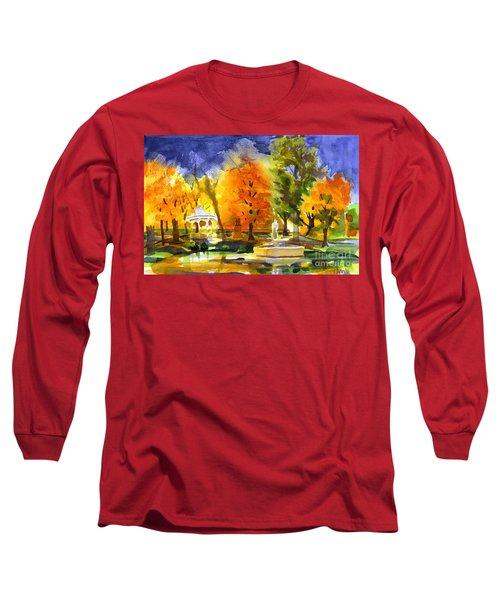 Autumn Gold 2 Long Sleeve T-Shirt by Kip DeVore