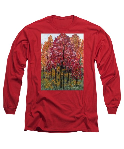 Autumn In Nashville Long Sleeve T-Shirt