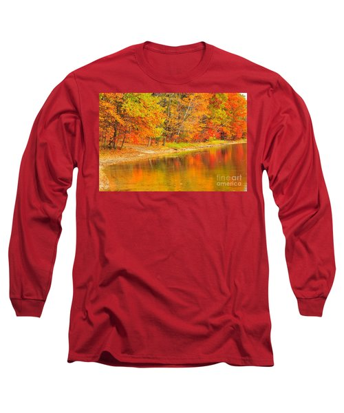 Long Sleeve T-Shirt featuring the photograph Fire Balls by Terri Gostola