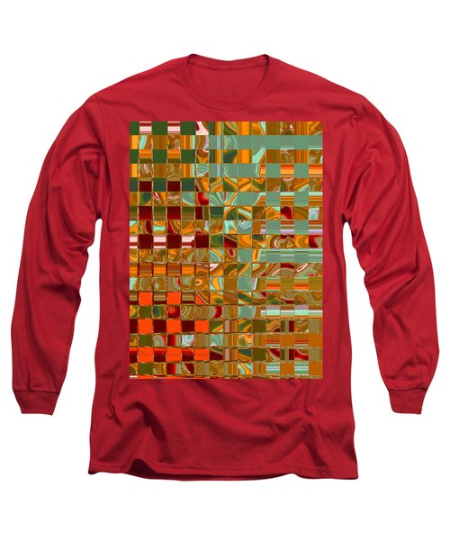 Autumn Leaves 8 - Abstract Images - Manipulated Photograph Long Sleeve T-Shirt
