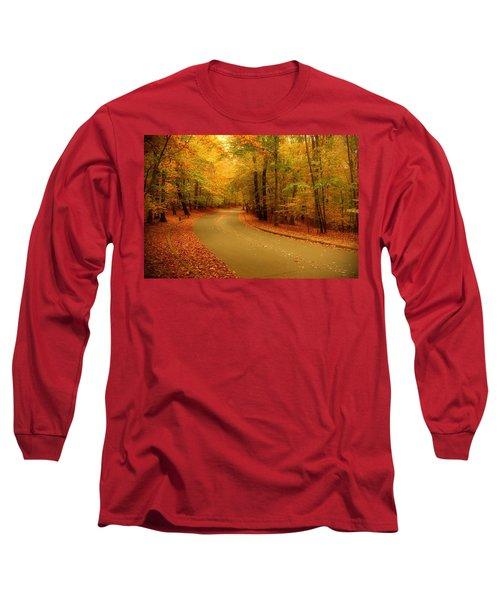 Autumn Serenity - Holmdel Park  Long Sleeve T-Shirt