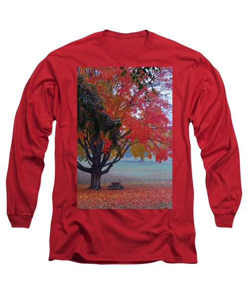 Autumn Splendor Long Sleeve T-Shirt by Lisa Phillips