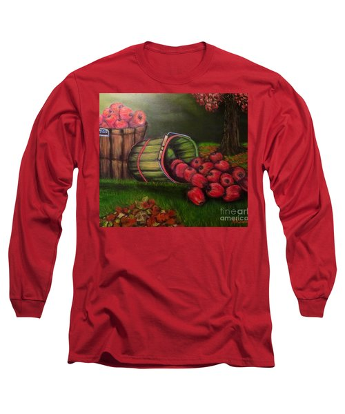 Autumn's Bounty In The Volunteer State Long Sleeve T-Shirt by Kimberlee Baxter