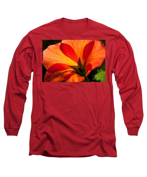 Back Lit Long Sleeve T-Shirt